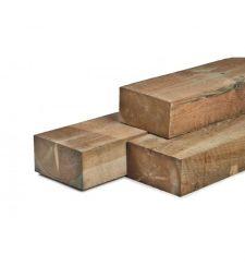 Rustieke grenen biels geimpregneerd 12x22x260 cm.