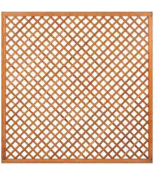 Trellis Diagonaal - Hardhout H180 cm.