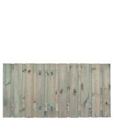 Tuinscherm Brussel H90x180 cm. 19 plus 2 planks.