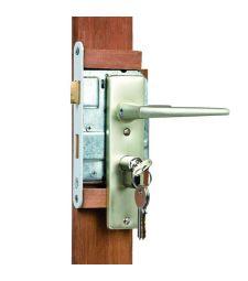 Eindplank hardhout tuindeur 1.4x8.5x180 cm. Incl. slot. t.b.v. solide deur.