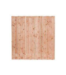 Tuinscherm Zillertal 180x180 cm. Douglas 15 plus 2 planks.