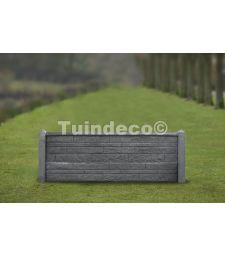 Betonpaal - Antraciet  10x10x145 cm. ( systeem Hunze ).