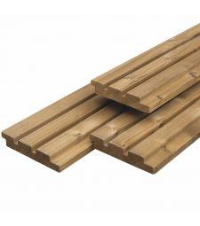 Thermo Wood gevelbekleding 2.6x14 cm.