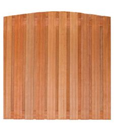 Tuinscherm hardhout Dronten 19 plus 2 planks Toog.