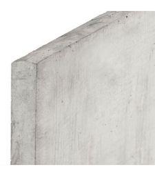 Onderplaat Wit-Grijs 3.5x24x184 cm. ( systeem A ).