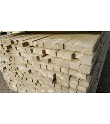Steigerhout verbinding Vergrijsd 3x4.4x250 cm.