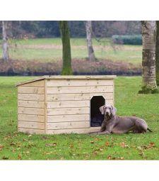 Hondenverblijf Teckel L130xD93xH97 cm.