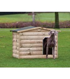 Hondenverblijf Labrador L118.5xD86xH93 cm.